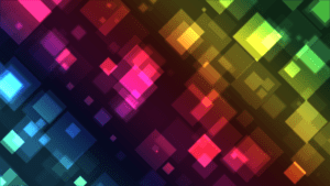 Colored Squares Wallpaper